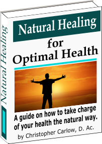 natural healing for optimal health - dr chris carlow