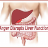 anger disrupts liver function