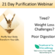 Instant Replay – 21 Day Purification Webinar