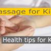 massage for kids
