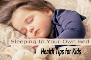 Sleeping in your own bed