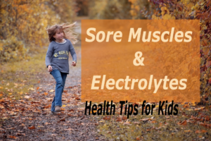 sore muscles and electrolytes