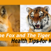 the fox and the tiger - health tips for kids