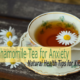 Healthy Tips for Kids – Chamomile Tea for Anxiety