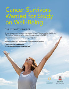 cancer survivors wanted
