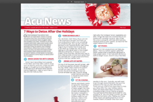 7 Ways to Detox After the Holidays - AcuNews 12.2